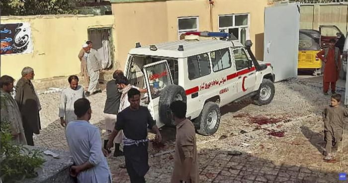 Atentado suicida en una mezquita de Afganistán deja al menos 50 muertos