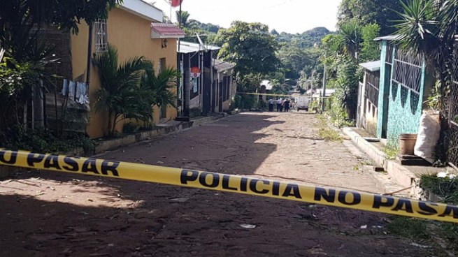 Pandilleros matan a balazos a agente policial en San José Villanueva