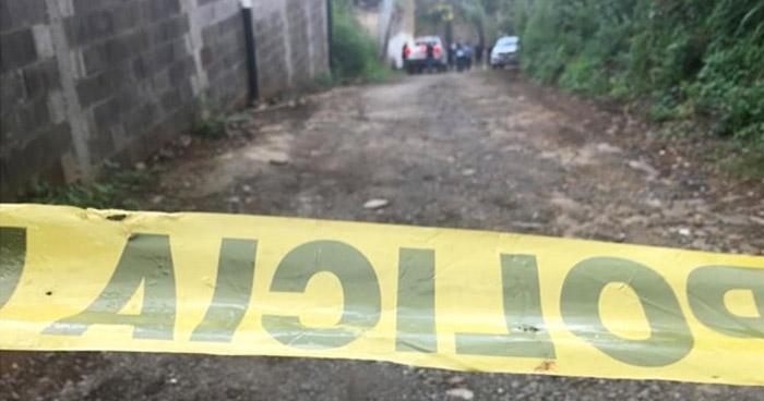 Agricultor asesinado cuando departía bebidas alcohólicas en Comasagua