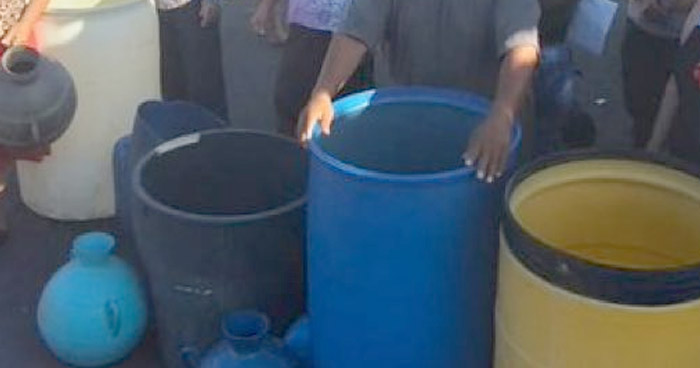 Habitantes de Soyapango denuncian servicio irregular de agua potable