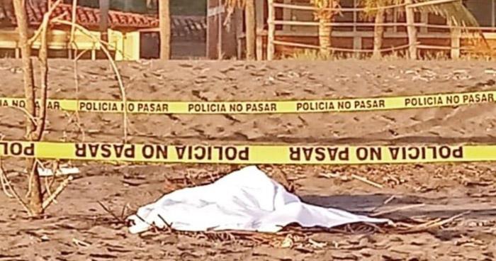 Madre e hijo mueren ahogados en playa Barra de Santiago, Ahuachapán
