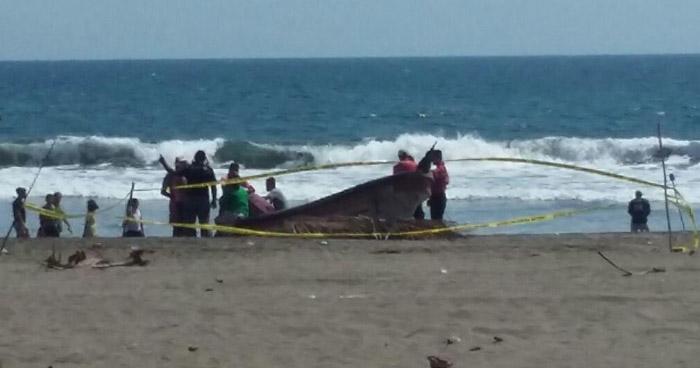 Joven muere ahogada en playa El Espino, Usulután