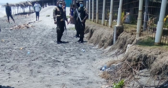 Hombre muere ahogado en playa El Pimental, en San Luis Talpa