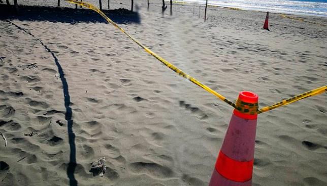 Joven muere ahogado en playa El Cuco, en San Miguel