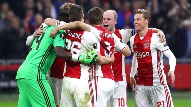 Ajax golea al Lyon y da un pasó gigantesco para buscar la final de la Europa League