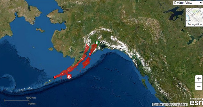 Terremoto de 7.4 en Alaska activa las alarmas en países con costa en el Pacífico