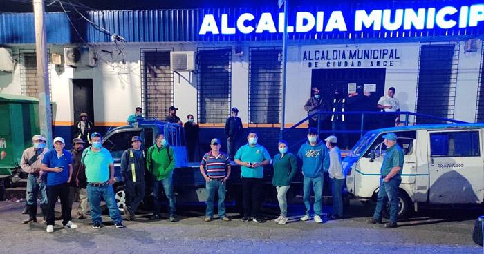 Suspenden labores en la Alcaldía de Ciudad Arce por falta de contracto colectivo