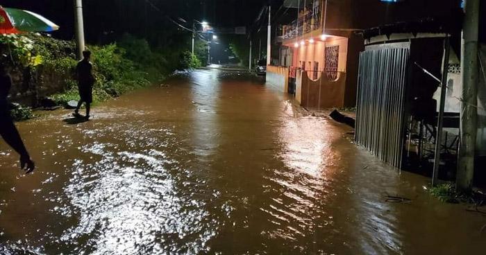 Alerta Amarilla a nivel nacional por lluvias