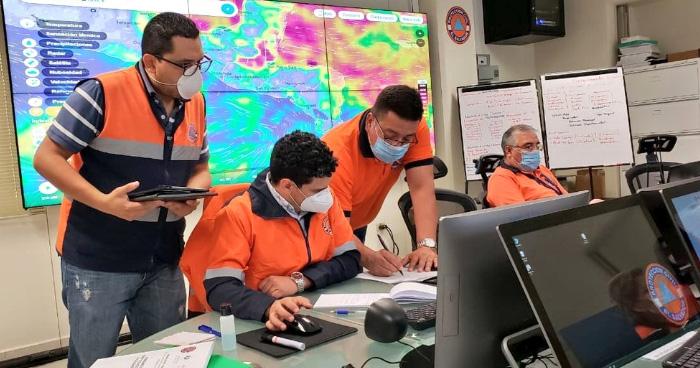 Elevan a NARANJA la alerta por lluvias en San Salvador y en la Zona Costera del país