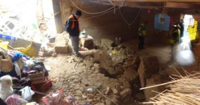 Cuatro personas han muerto por deslizamientos de tierra por lluvias en Perú