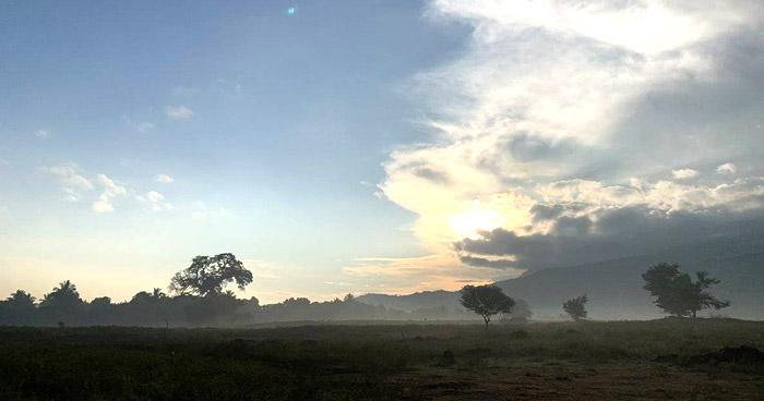 Nubosidad aislada y ambiente cálido para este martes por circulaciones anticiclónicas