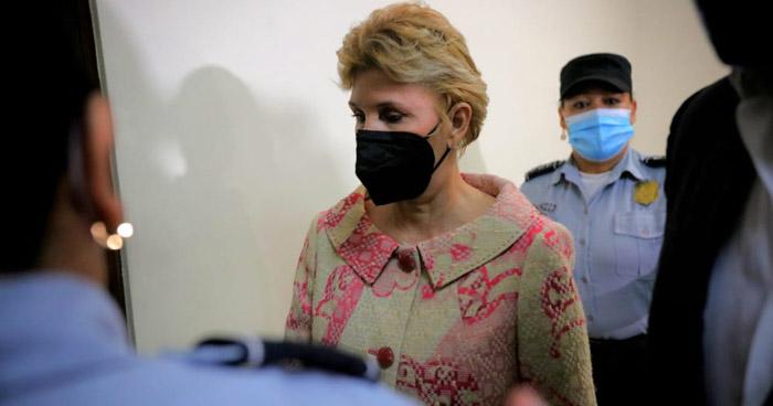 """Defensa de Ana Ligia de Saca apelará a su detención """"por su mal estado de salud"""""""