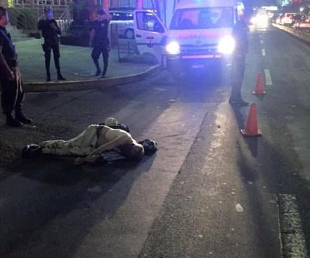 Anciano muere tras ser atropellado por un microbus en la Alameda Roosevelt