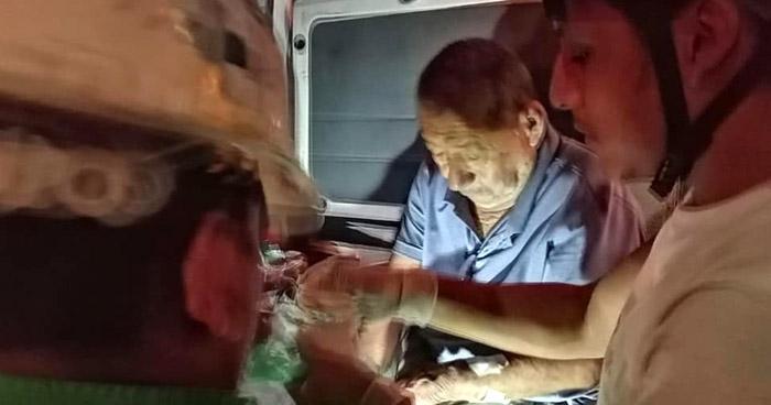 Anciano quemado en incendio de su vivienda en el centro de San Salvador