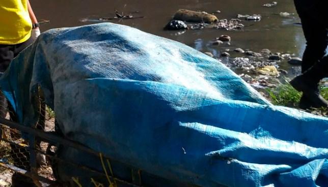 Encuentran cadáver embolsado y en estado de descomposición en río Tomayate de Apopa