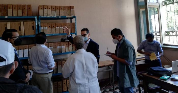 Juez busca archivos militares que podrían estar relacionados a la masacre El Mozote en Archivo General