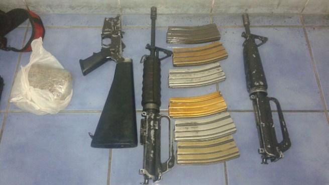 Descubren campamento de pandilleros en Ayutuxtepeque y encuentran armas