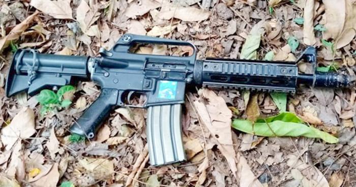 Incautan armas a pandilleros de la MS en Sensuntepeque