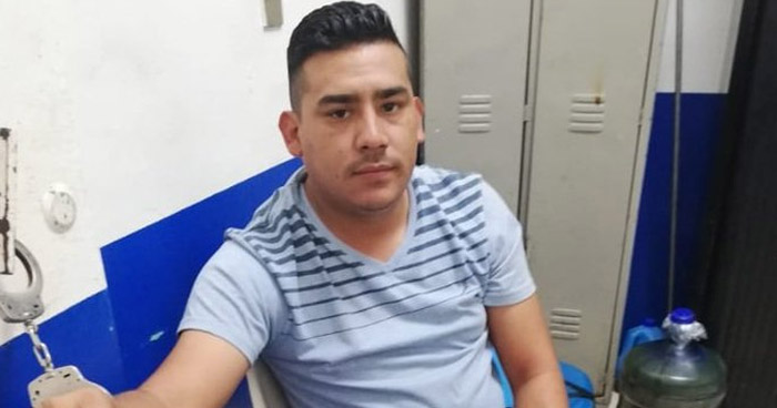 Arrestan en frontera El Amatillo a sujeto con orden de captura vigente
