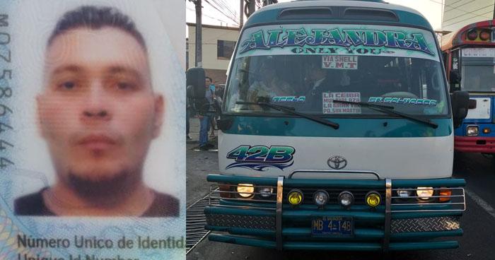 Sujeto fue detenido cuando asaltaba a usurarios de la ruta 42B en plaza Salvador del Mundo