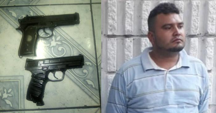 Robaban con armas de plástico en San Salvador
