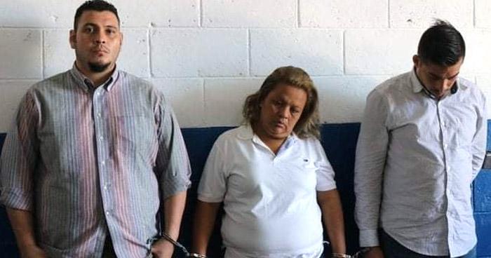 Capturan a tres asaltantes de pasajeros del transporte público en Antiguo Cuscatlán