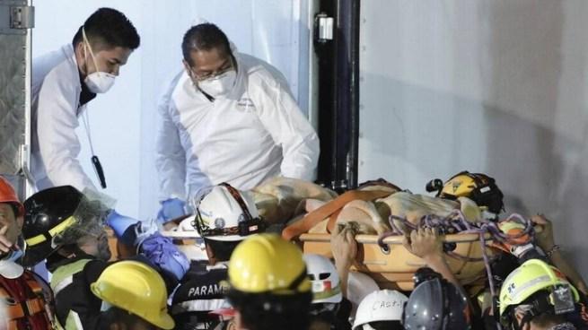 Asciende a 286 el número de víctimas mortales por el terremoto en México