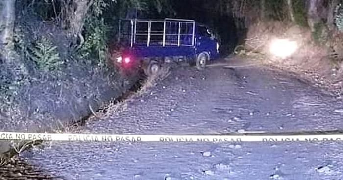 Asesinan a un joven en El Tránsito, San Miguel