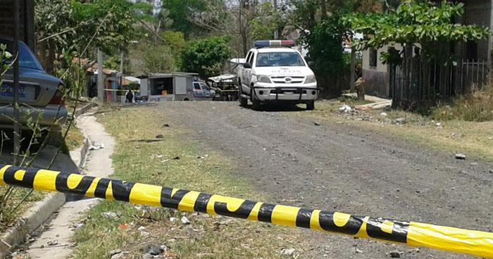 Hombre fue asesinado en un cantón de Comasagua, La Libertad