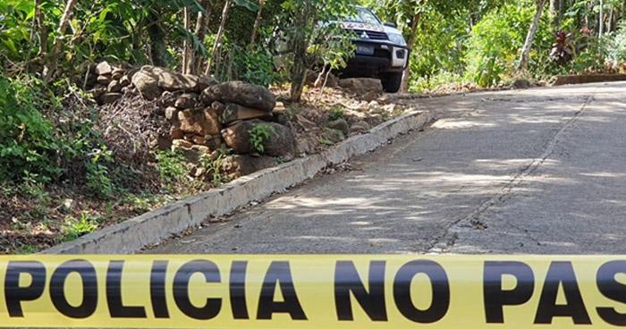 Joven fue asesinado con arma blanca en Osicala, Morazán