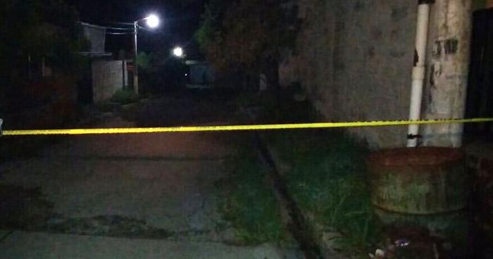 Hombre asesinado cuando departía bebidas alcohólicas en San Luis Talpa, La Paz