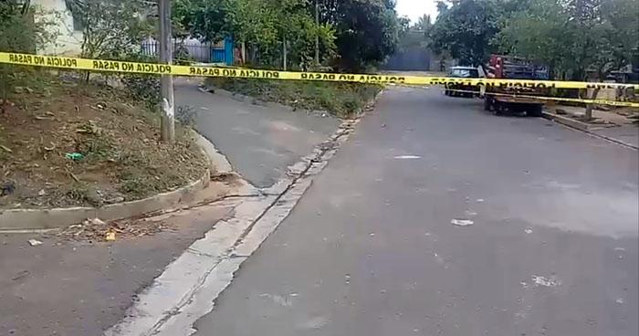 Joven fue asesinado cuando se dirigía a comprar a un tienda en Sonsonate