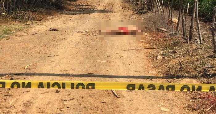 Pandillero asesinado en Tecoluca, San Vicente