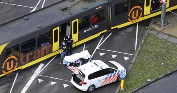 Tres muertos y 9 heridos por tiroteo en la ciudad neerlandesa de Utrecht