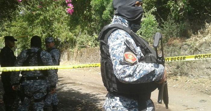 Agente de la PNC lesionado tras ataque armado en Nahuizalco, Sonsonate