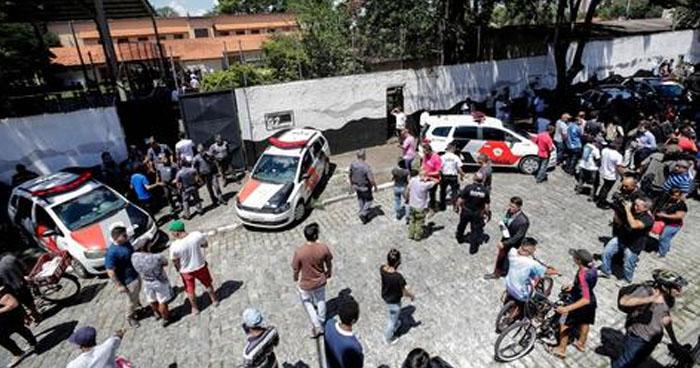 Masacre en una escuela de Brasil: jóvenes asesinan a 8 personas y luego se suicidan