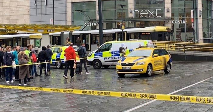 Cuatro heridos tras ataque con cuchillo en un centro comercial de Manchester