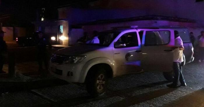 Dos heridos de bala en fiesta de 15 años en Sonsonate
