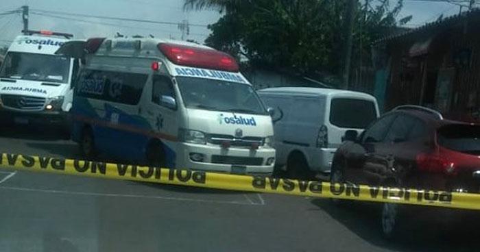 Un muerto y dos lesionados tras ataque armado en punto de buses de Mejicanos