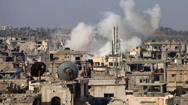 Más de 40 muertos tras ataque suicida en bastión rebelde de Siria
