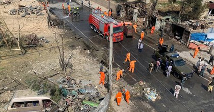Al menos 10 muertos y 15 lesionados dejó ataque con bomba en Kabul, Afganistán