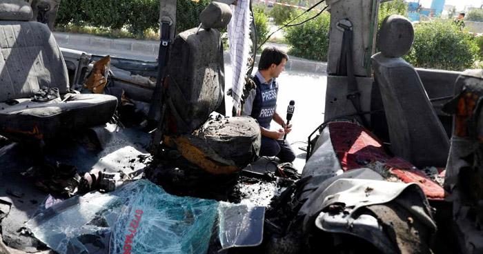 Tres niños entre 11 muertos durante atentado contra autobús en Afganistán