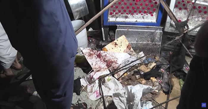 Al menos 35 muertos y 57 heridos deja sangriento atentado en un mercado de Bagdad