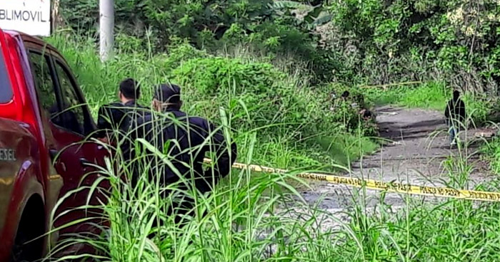 Asesinan a conductor de microbús de transporte público en Ahuachapán