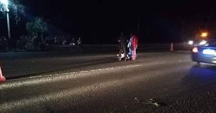 Conductor se da a la fuga luego de atropellar y matar a una mujer en Atiquizaya