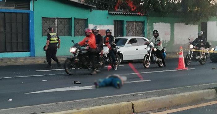 Atropellan a mujer en el bulevar Los Próceres cerca del monumento bienvenido a casa