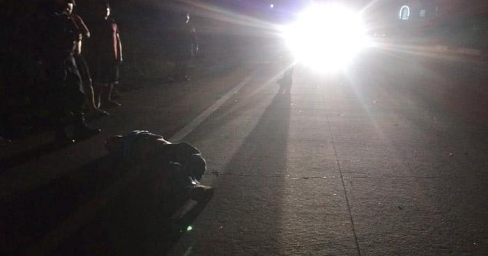 Conductor huye tras arrollar y matar a hombre en carretera Troncal del Norte