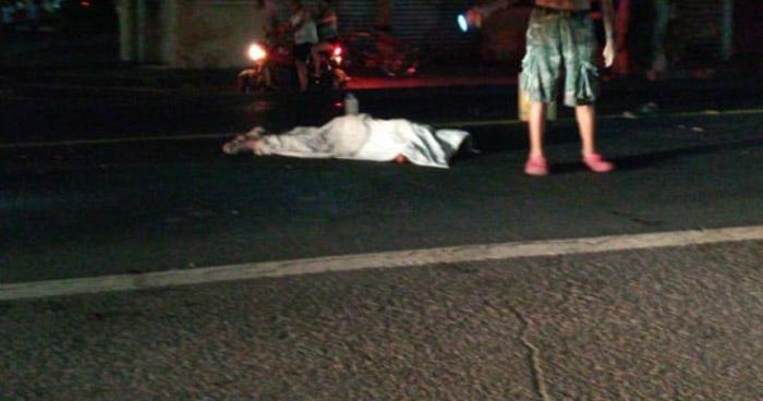 Hombre muere al ser atropellado en Zacatecoluca, La Paz