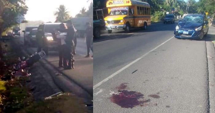 Automovilista atropella y mata a un panadero en carretera de La Libertad
