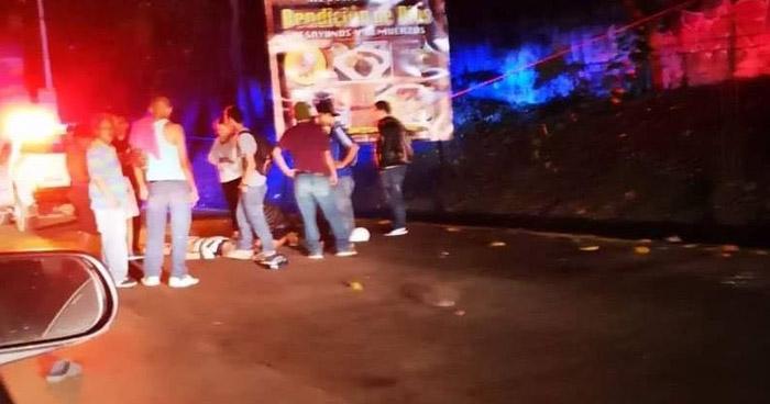 Anciano lesionado tras ser atropellado en carretera a Santa Ana